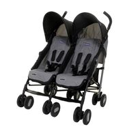 Коляска для двойни Chicco Echo Twin Stroller {Coal}